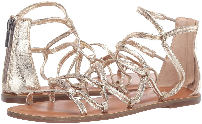 Lucky Brand Anisha Flat Sandal Platinum