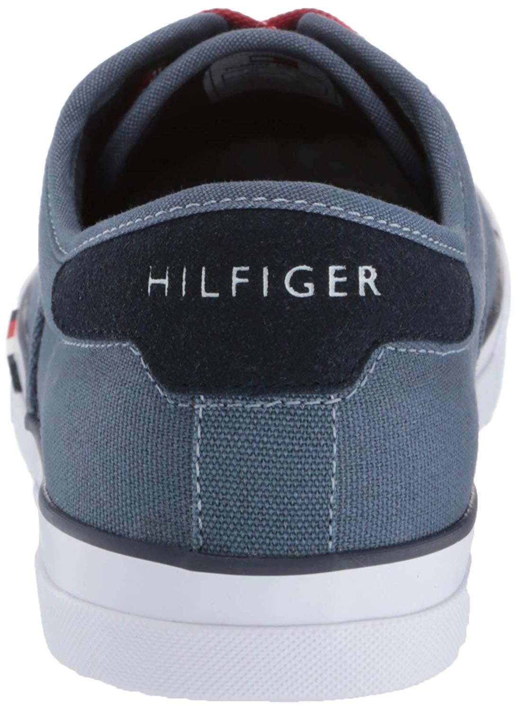 Tommy-Hilfiger-Men-039-s-Pitne-Sneaker-Light-Blue-Lace-Up-Boat-Shoes thumbnail 10