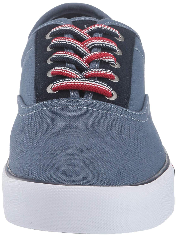 Tommy-Hilfiger-Men-039-s-Pitne-Sneaker-Light-Blue-Lace-Up-Boat-Shoes thumbnail 9