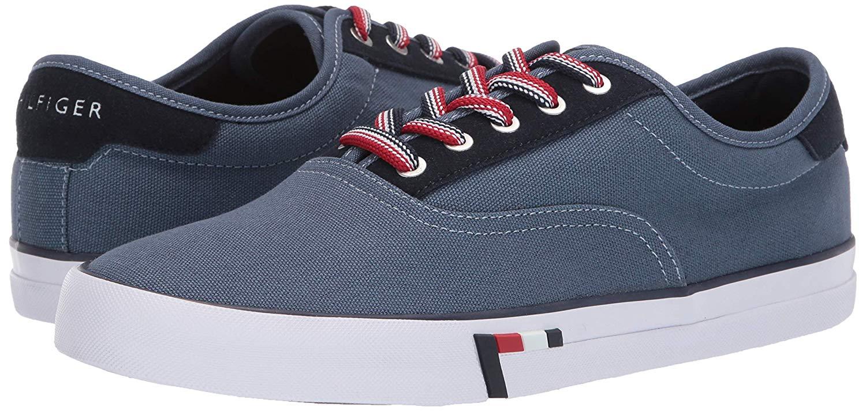 Tommy-Hilfiger-Men-039-s-Pitne-Sneaker-Light-Blue-Lace-Up-Boat-Shoes thumbnail 12