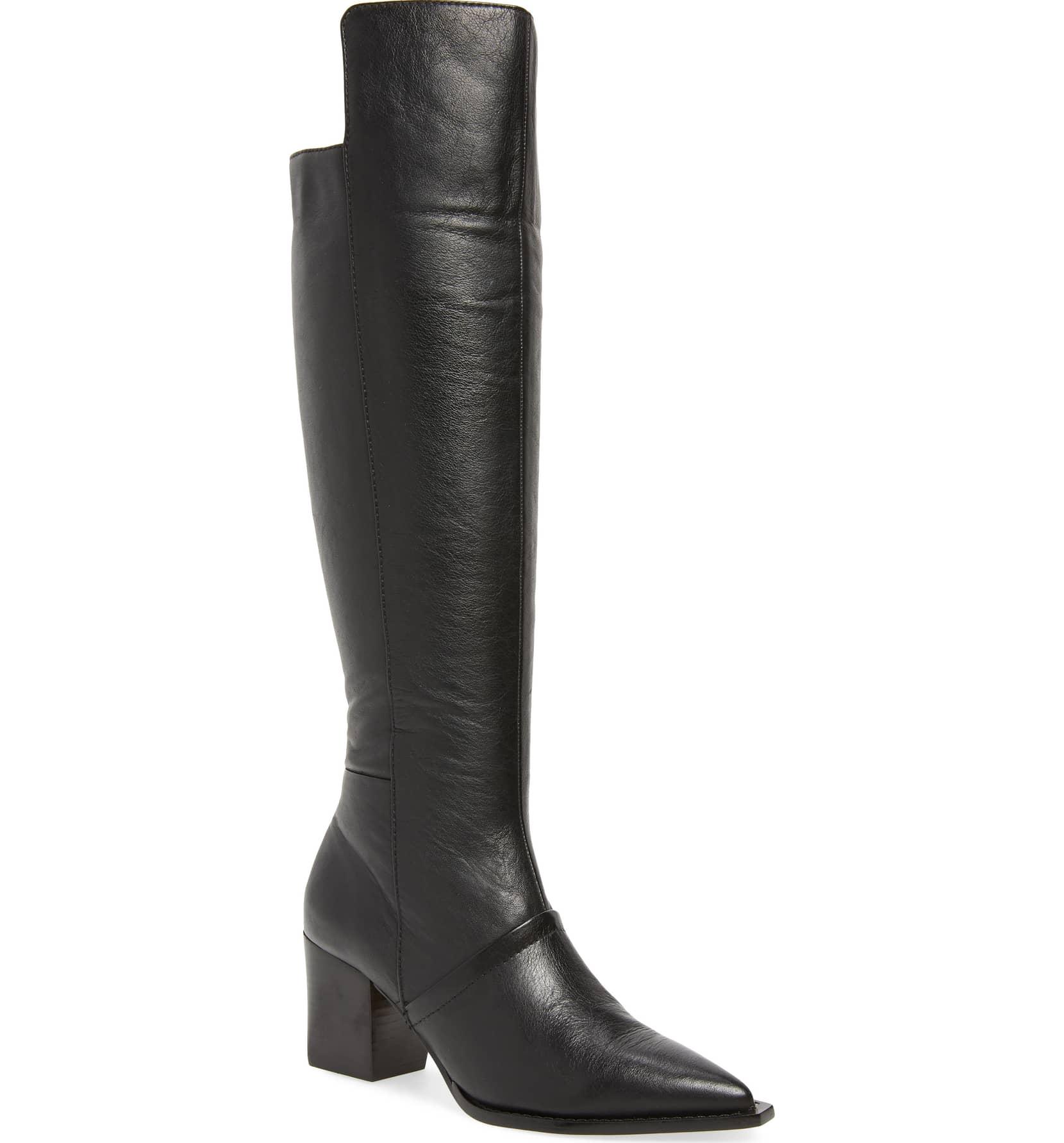designer high boots