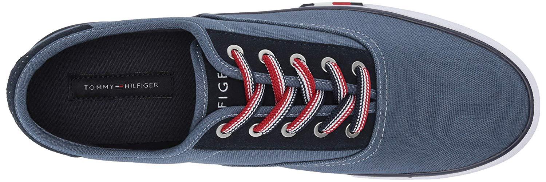 Tommy-Hilfiger-Men-039-s-Pitne-Sneaker-Light-Blue-Lace-Up-Boat-Shoes thumbnail 11