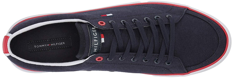 Tommy-Hilfiger-Men-039-s-Pitne-Sneaker-Light-Blue-Lace-Up-Boat-Shoes thumbnail 6