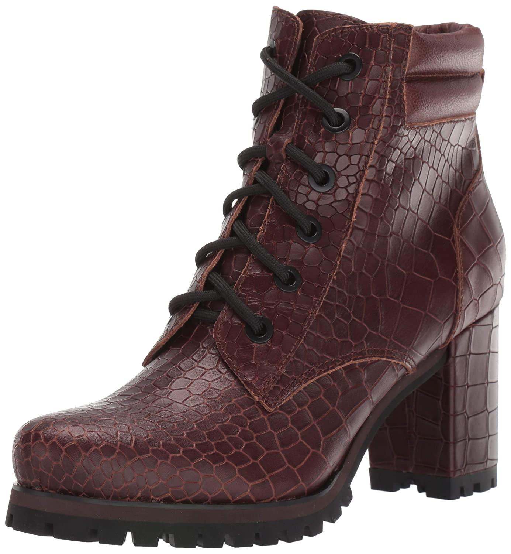 Kelsi Dagger Hanly Women/'s Leather Ankle Boots w// Skull Zipper Pull