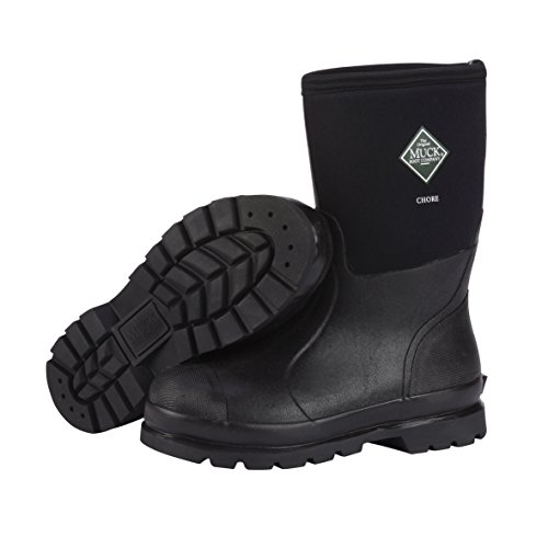 bcbfe51cf77 Details about The Original MuckBoots Adult Chore Mid Boot Black Waterproof  Snow Muck Boots