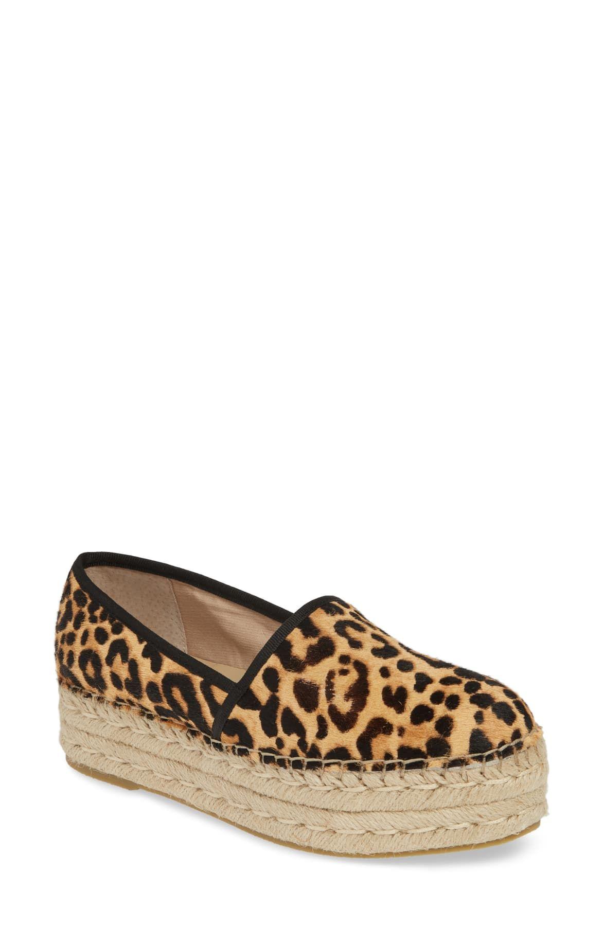 Steve Madden Alexia leopard Espadrille