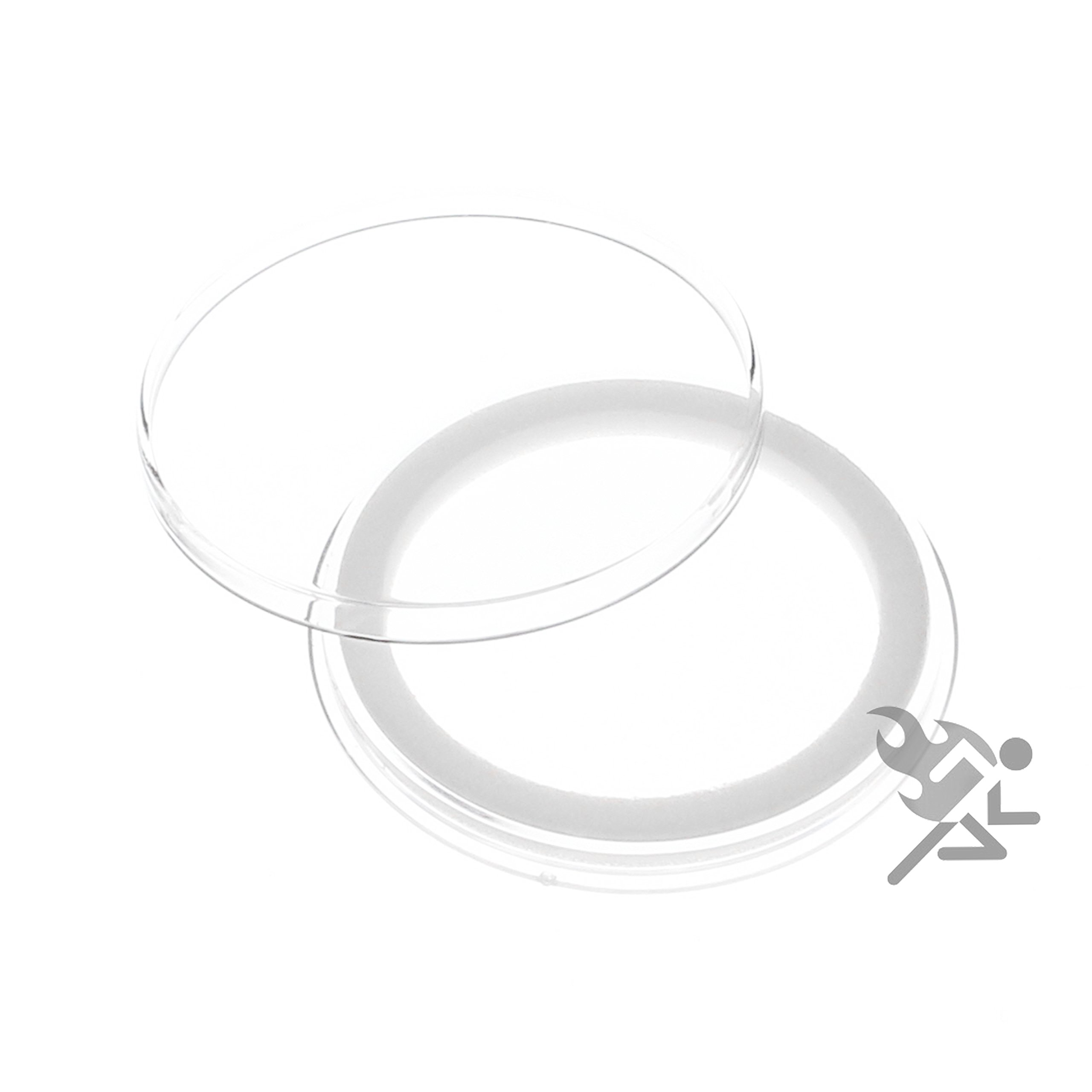 25 Genuine Air-tite 39mm with White Rings for 1oz Silver and copper rounds.