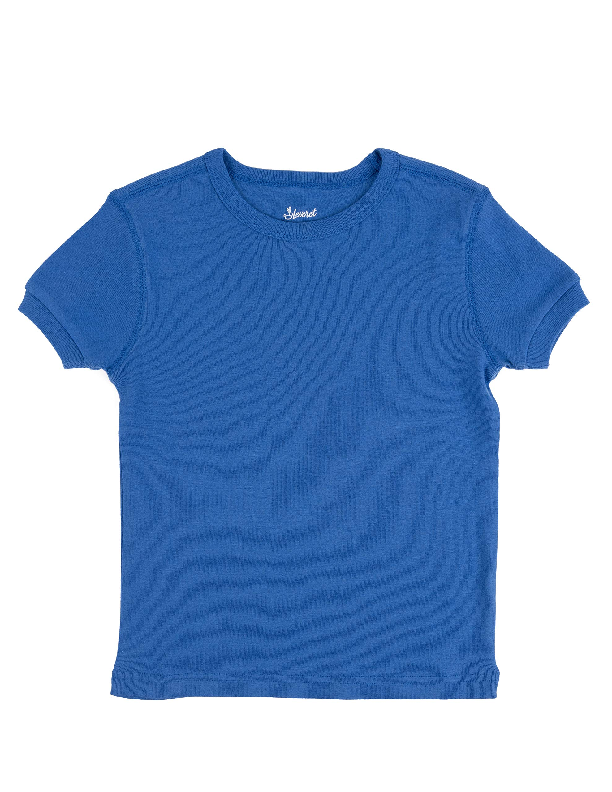 thumbnail 5 - Leveret-Short-Sleeve-Boys-Girls-Kids-amp-Toddler-T-Shirt-100-Cotton-2-14-Years