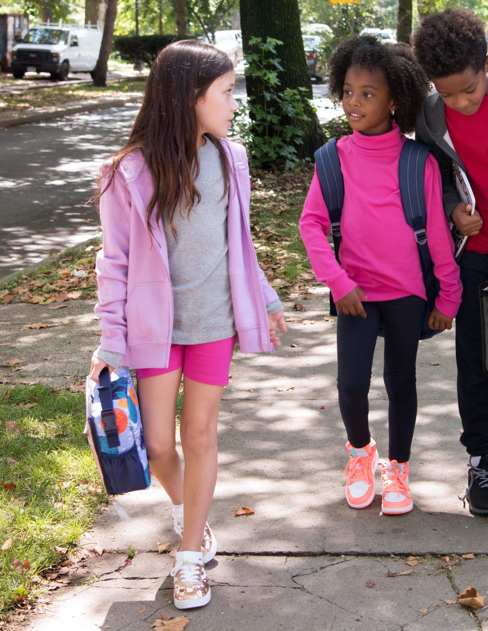Size Toddler-14 Years Leveret Girls Legging Cotton Bike Kids /& Toddler Shorts Pants