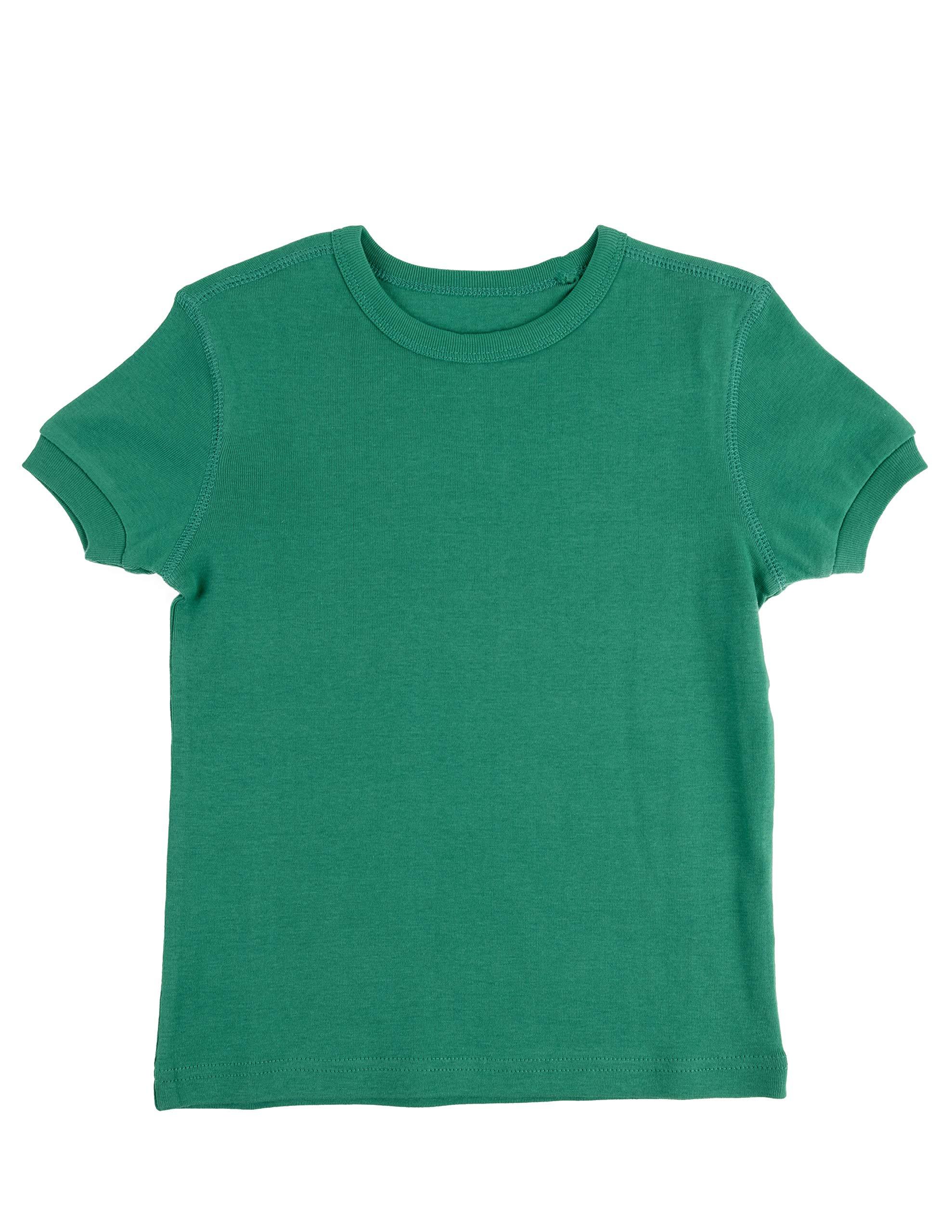 thumbnail 9 - Leveret-Short-Sleeve-Boys-Girls-Kids-amp-Toddler-T-Shirt-100-Cotton-2-14-Years