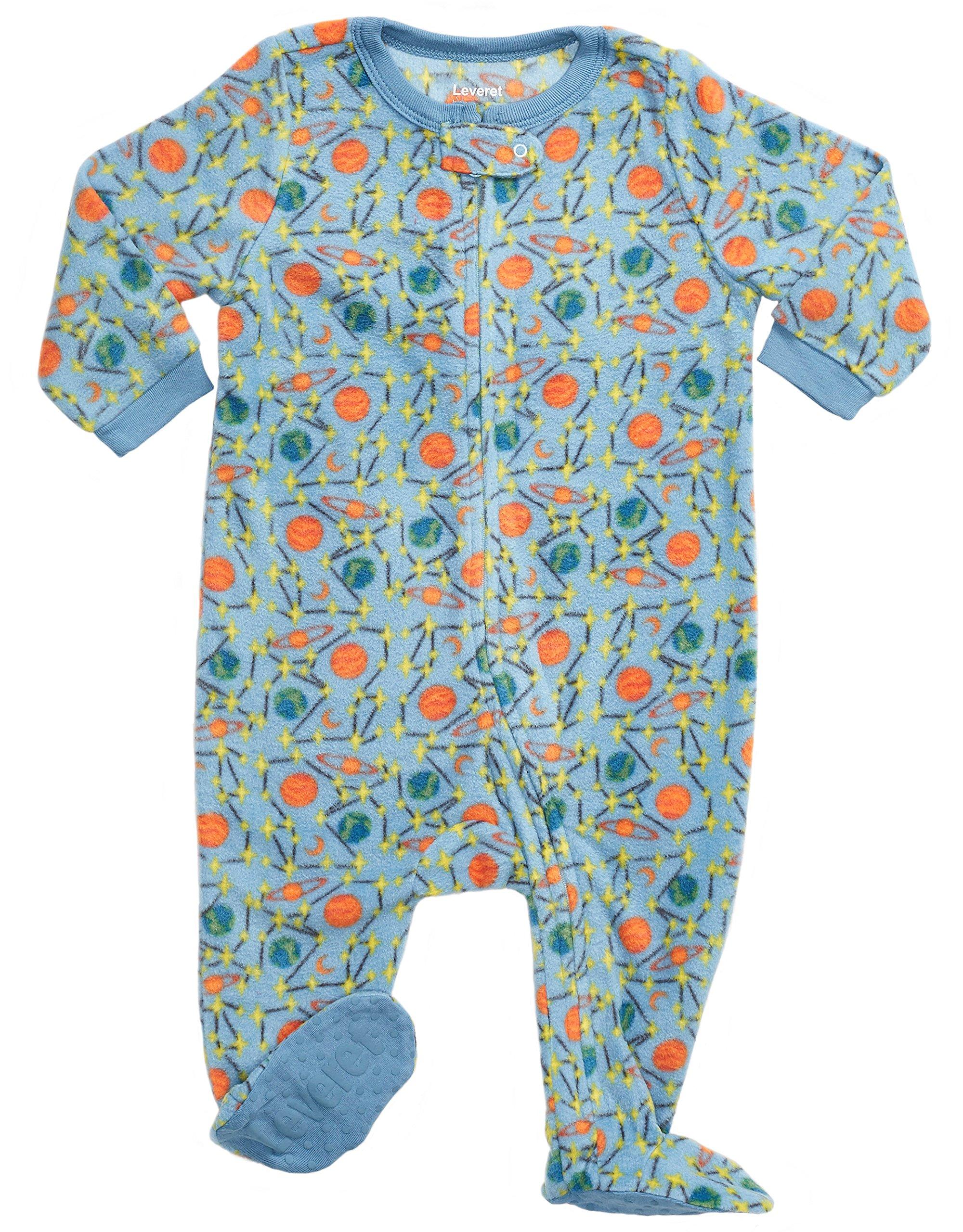 Leveret Fleece Baby Boys Footed Pajamas Sleeper Kids /& Toddler Pajamas 3