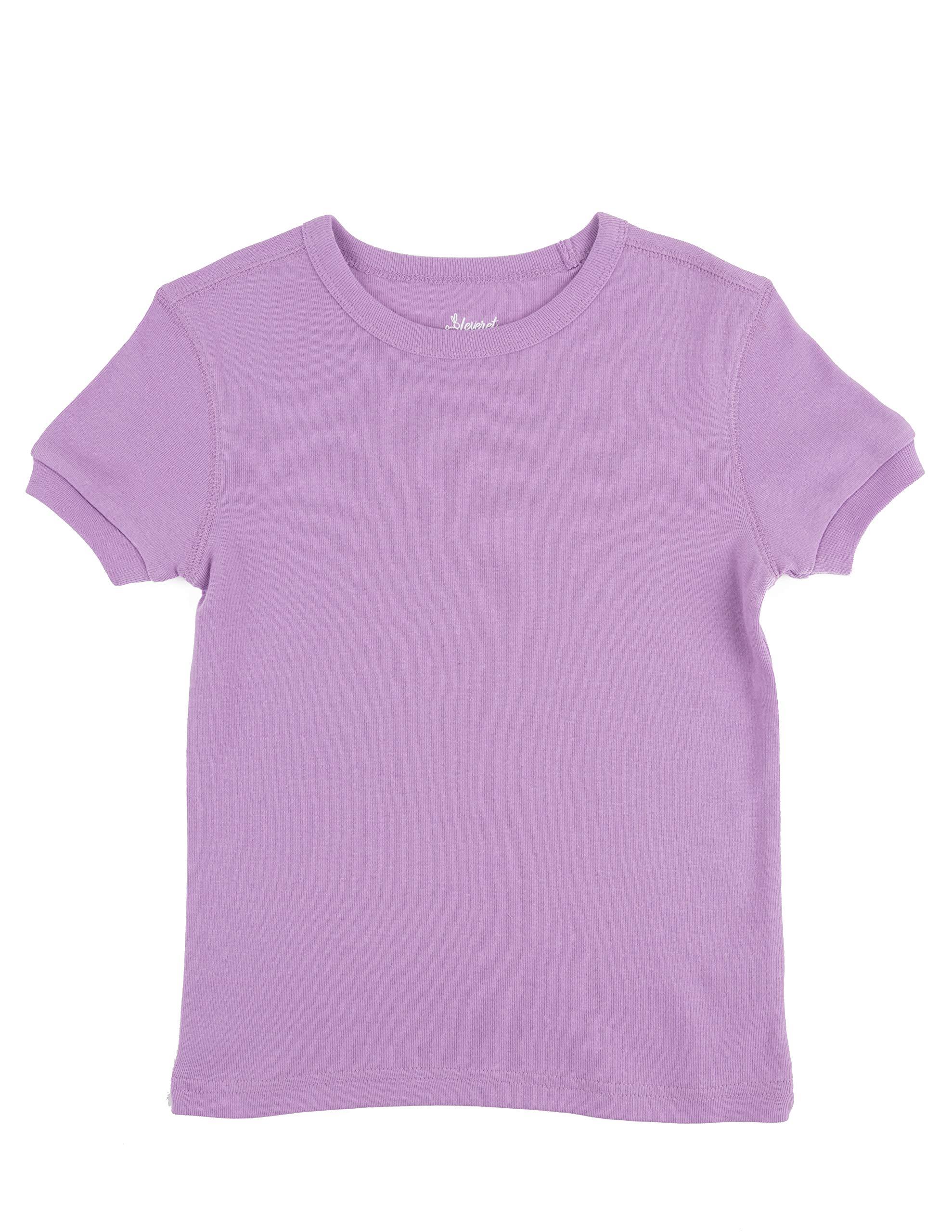 thumbnail 18 - Leveret-Short-Sleeve-Boys-Girls-Kids-amp-Toddler-T-Shirt-100-Cotton-2-14-Years