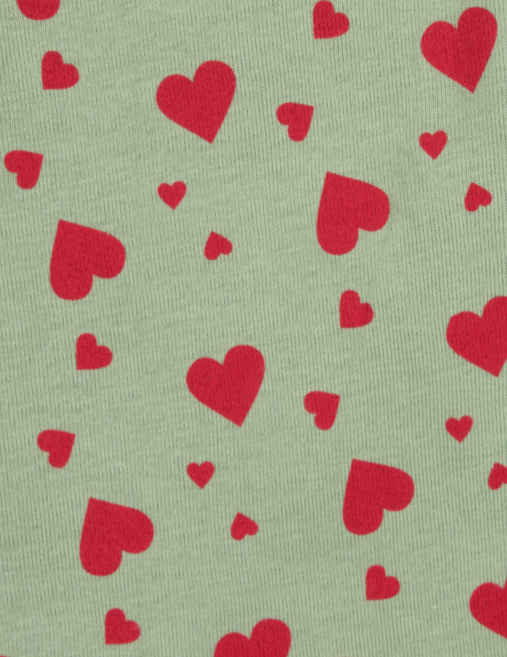Leveret Kids Pajamas Boys Girls Hearts Birthday 2 Piece pjs set 100/% Cotton