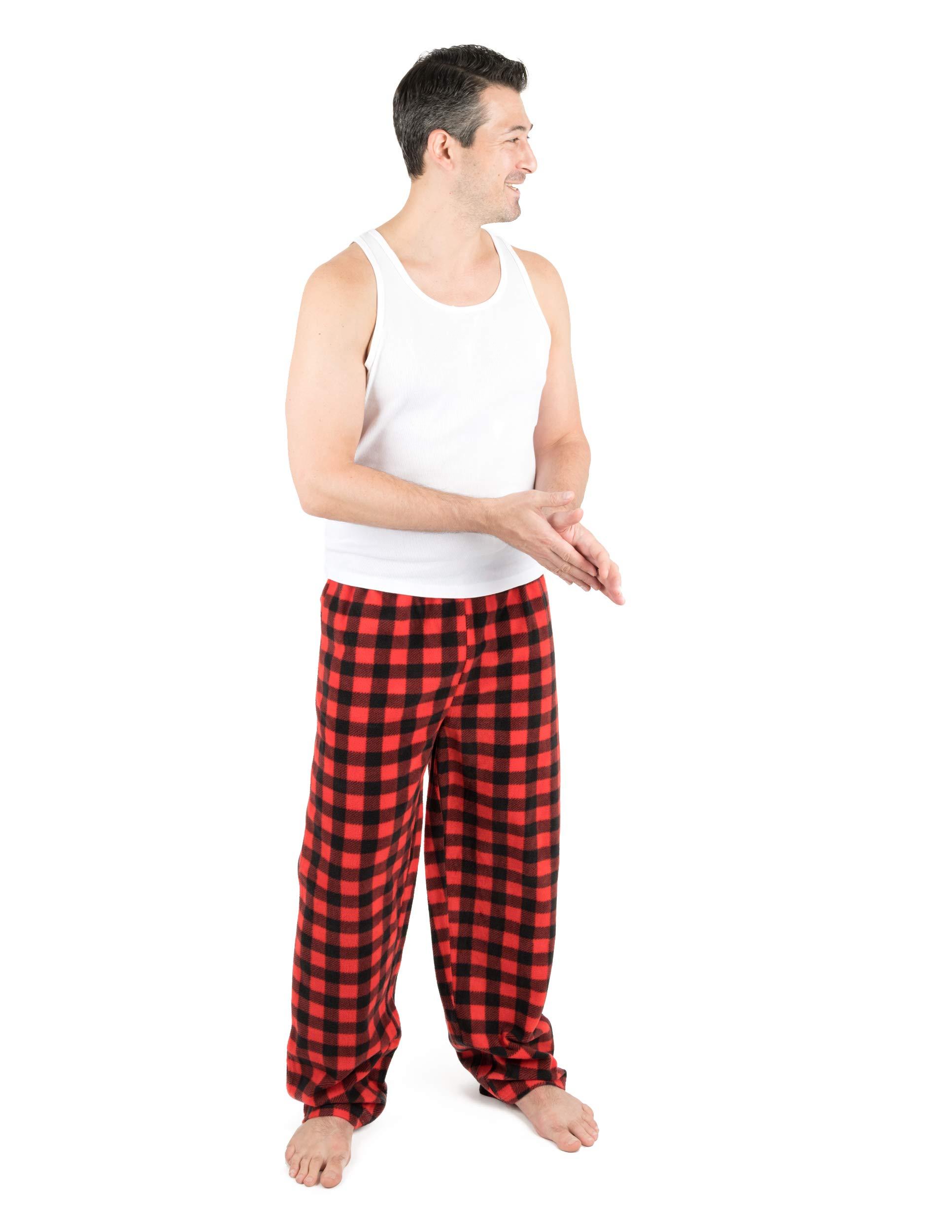 Leveret Mens Pajama Pants Fleece Lounge Sleep Pj Bottoms Christmas Pjs Size XSmall-XXLarge