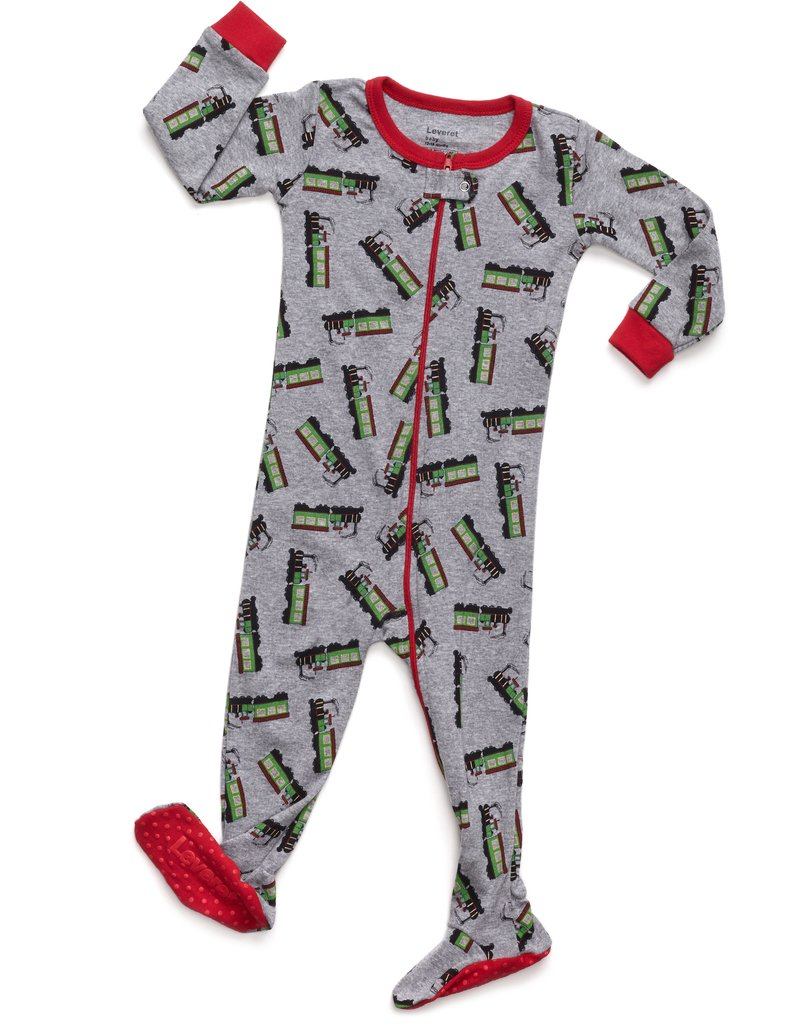 Leveret Kids Pajamas Baby Boys Girls Footed Pajamas Sleeper 100/% Cotton Scuba Dive, Size 12-18 Months
