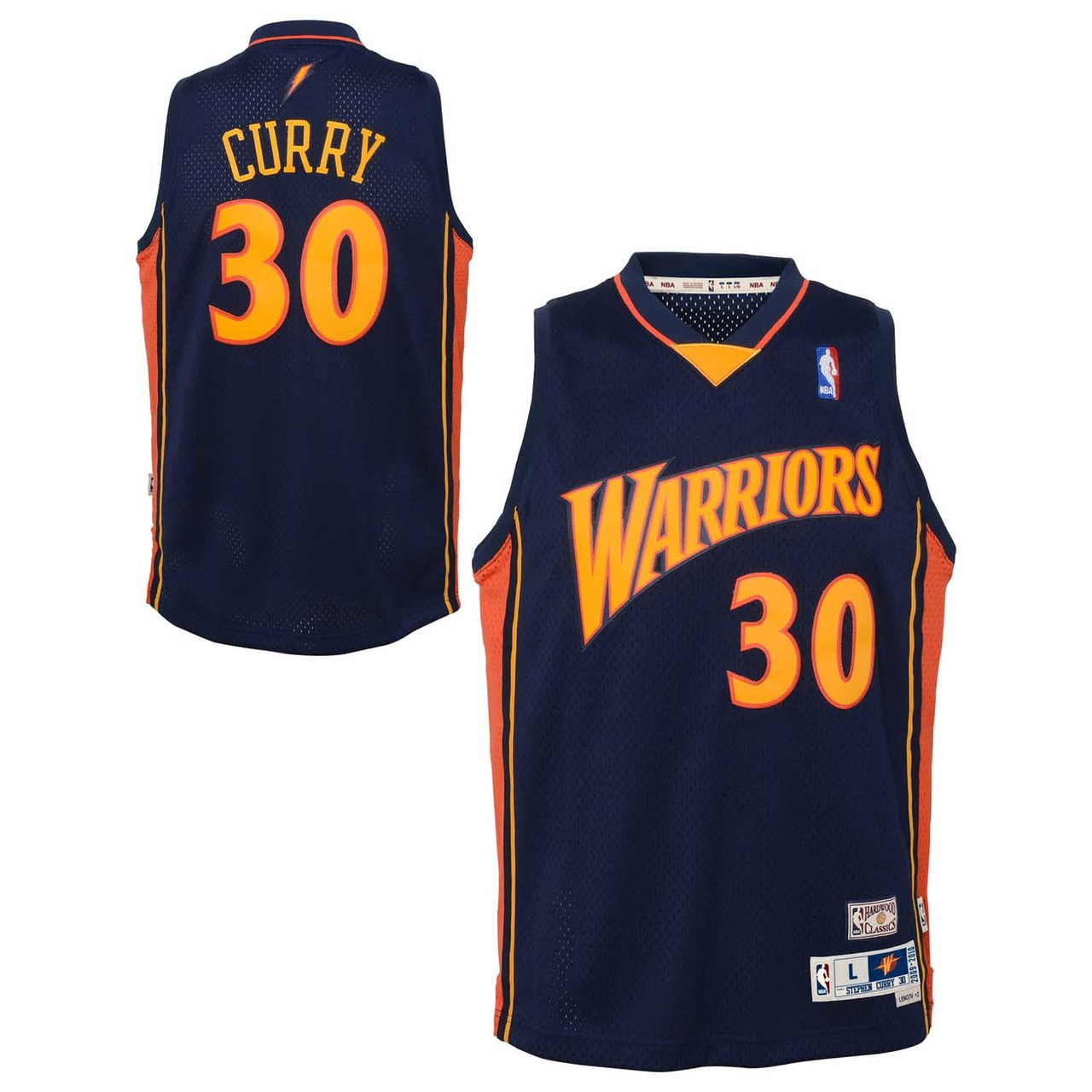 Golden State Warriors Youth Steph Curry NBA Soul Swingman ...
