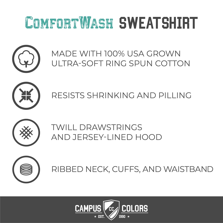 NCAA Adult Ultra Soft Comfort Wash T-Shirt