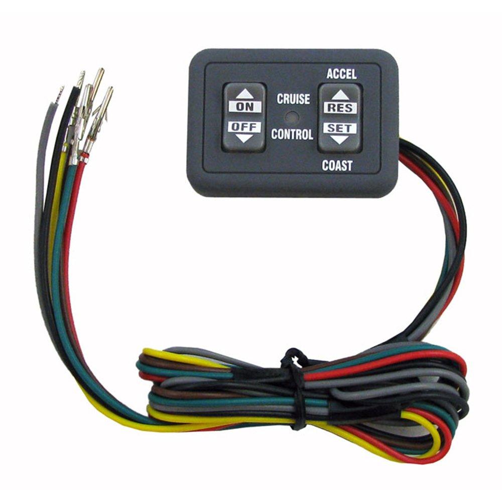 Rostra 250-3593 Universal Dash Mount Cruise Control Switch