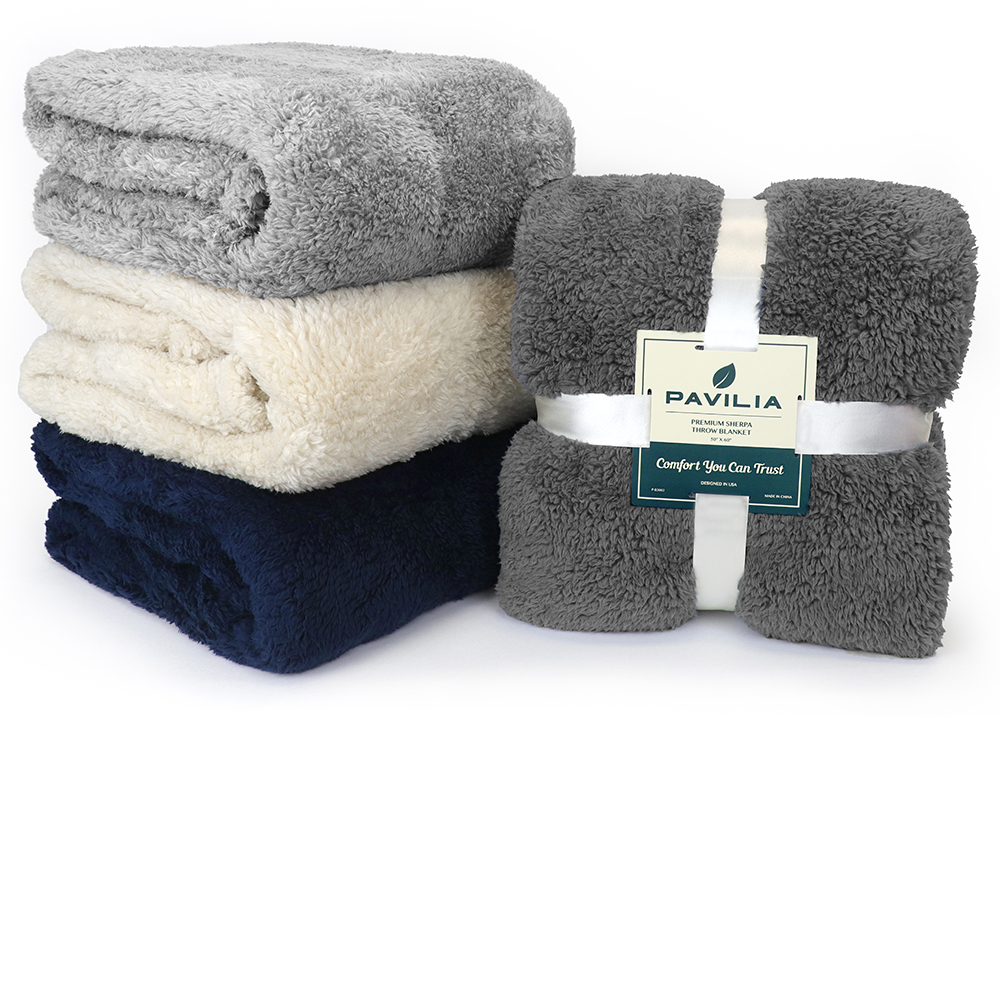Soft-Fuzzy-Warm-Cozy-Throw-Blanket-with-Fluffy-Sherpa-Fleece-for-Sofa-Couch-Bed thumbnail 50