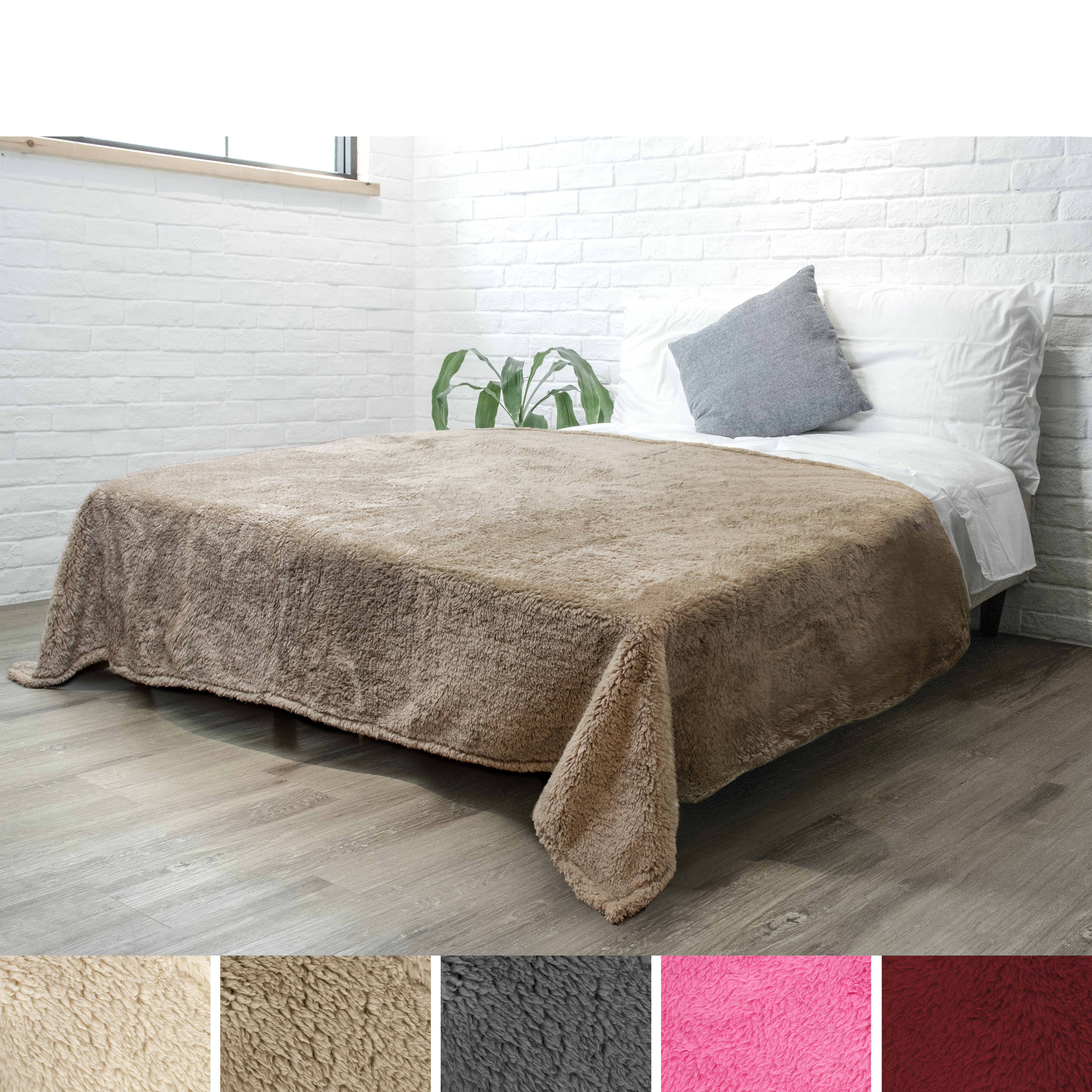 Soft-Fuzzy-Warm-Cozy-Throw-Blanket-with-Fluffy-Sherpa-Fleece-for-Sofa-Couch-Bed thumbnail 85