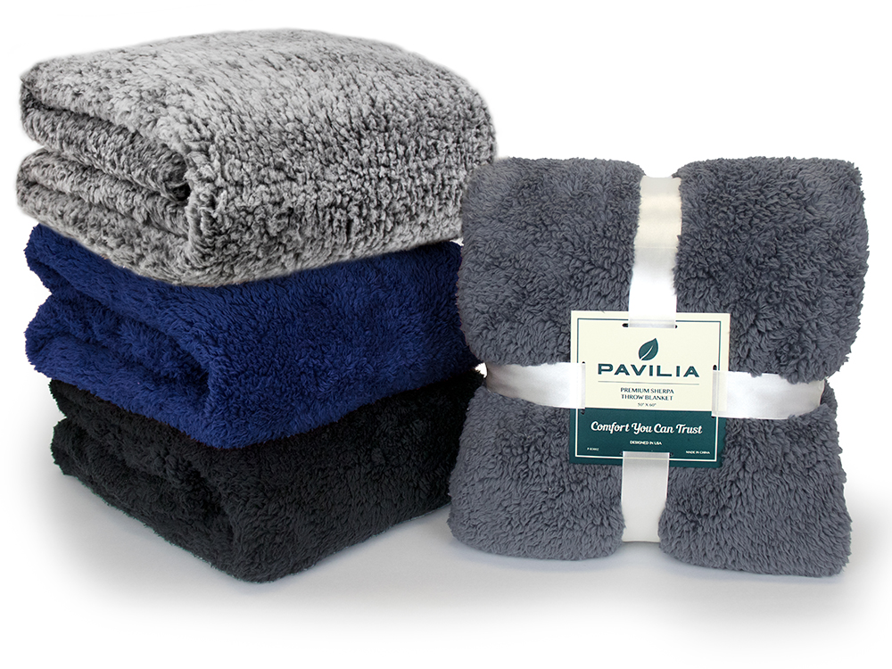 Soft-Fuzzy-Warm-Cozy-Throw-Blanket-with-Fluffy-Sherpa-Fleece-for-Sofa-Couch-Bed thumbnail 32