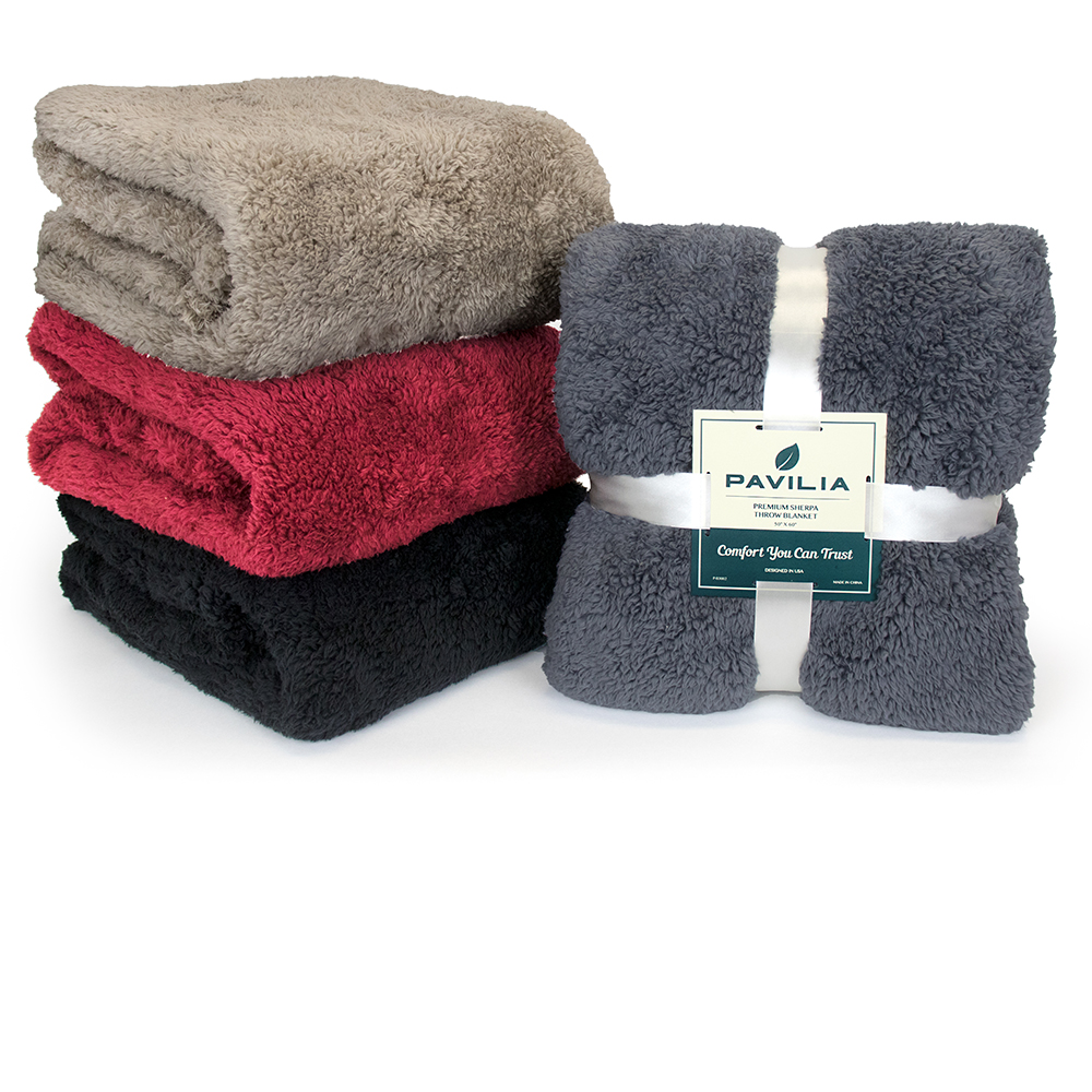 Soft-Fuzzy-Warm-Cozy-Throw-Blanket-with-Fluffy-Sherpa-Fleece-for-Sofa-Couch-Bed thumbnail 95