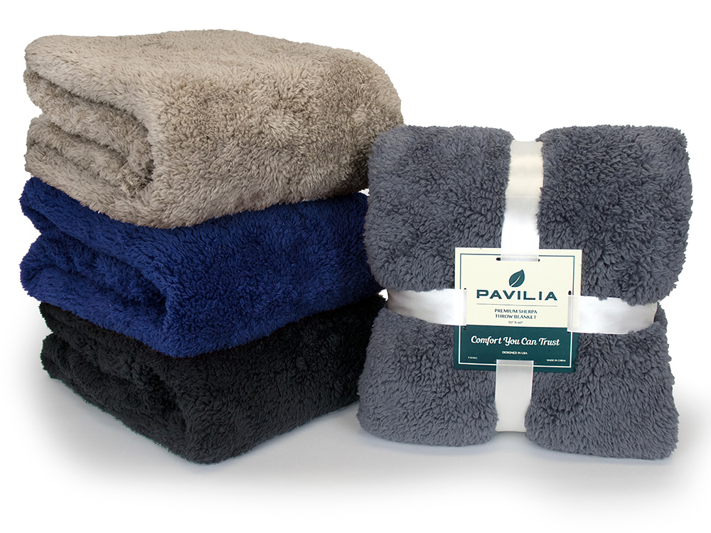 Soft-Fuzzy-Warm-Cozy-Throw-Blanket-with-Fluffy-Sherpa-Fleece-for-Sofa-Couch-Bed thumbnail 71