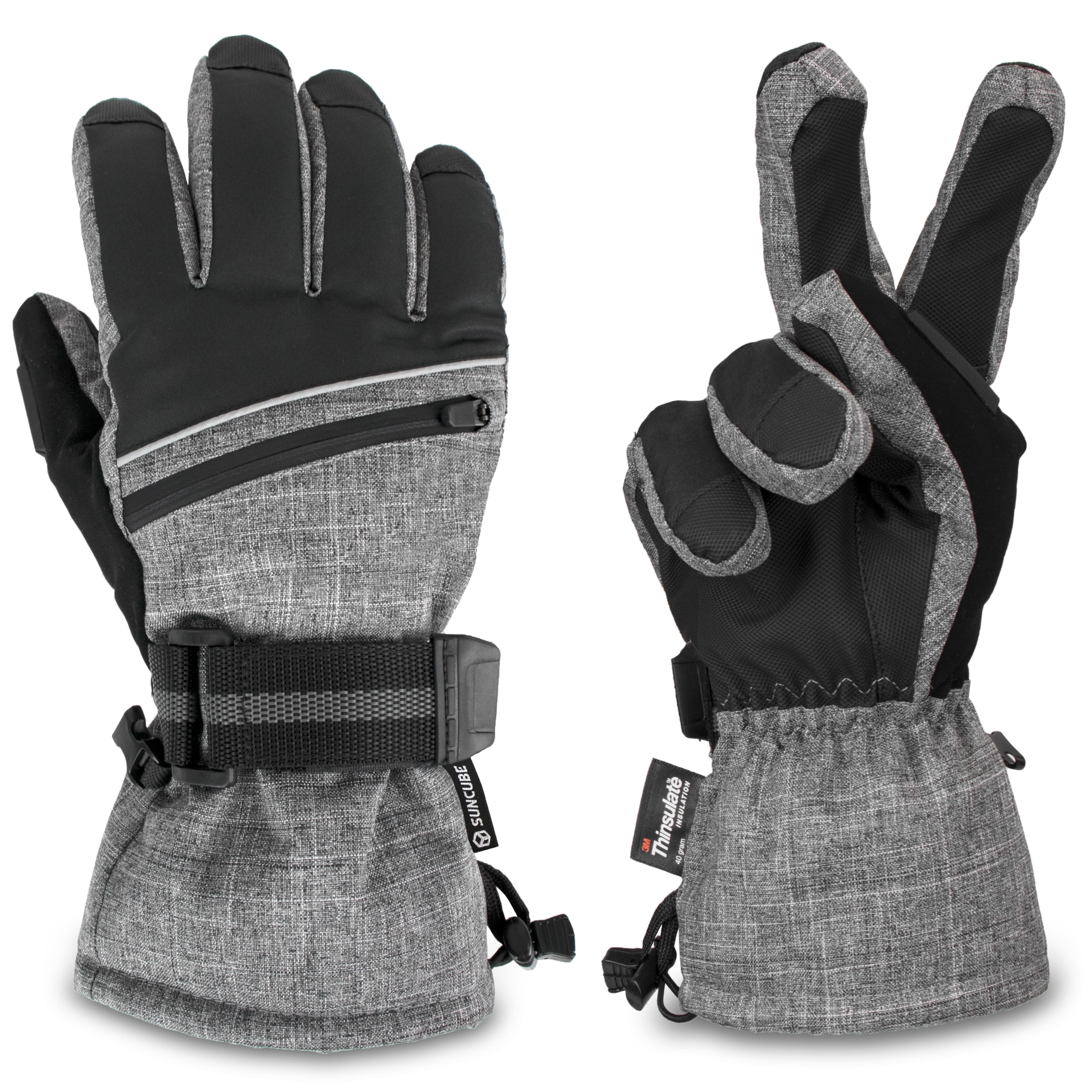 40℃ Waterproof Keep Warm Thermal Ski Skiing Snow Snowboarding Gloves Thinsulate