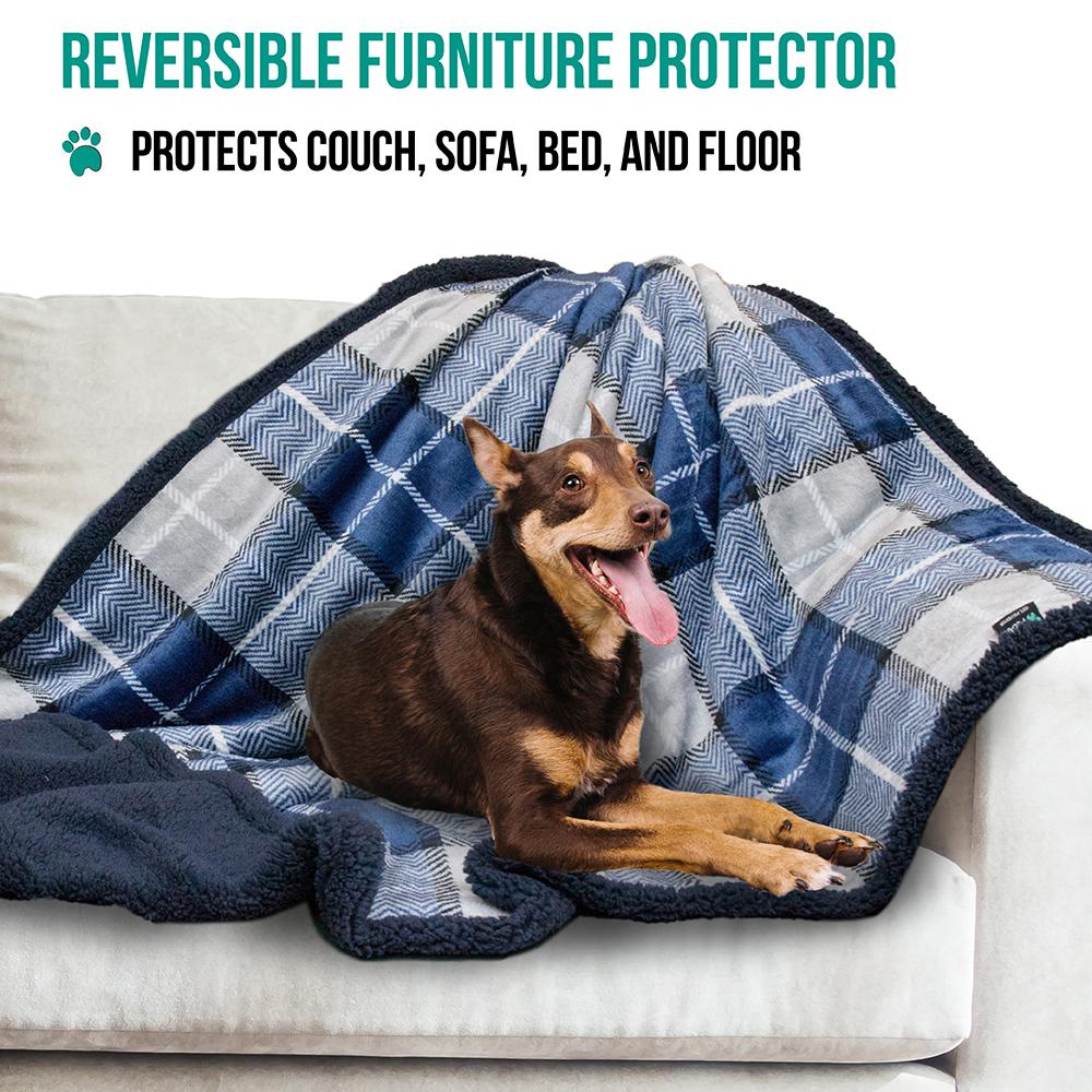 thumbnail 58 - Dog Blanket for Medium Large Dogs Pet Soft Fleece Durable Warm Sherpa Reversible