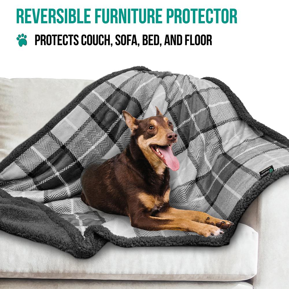 thumbnail 46 - Dog Blanket for Medium Large Dogs Pet Soft Fleece Durable Warm Sherpa Reversible