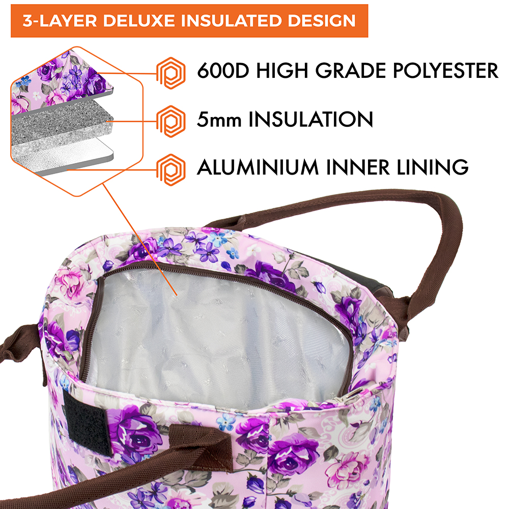 miniature 40 - Lunch Bag for Women Thermal Insulated Lunch Food Tote Purse Work Office Picnic