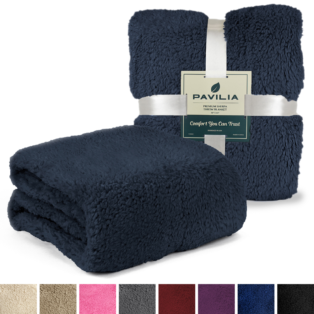 Soft-Fuzzy-Warm-Cozy-Throw-Blanket-with-Fluffy-Sherpa-Fleece-for-Sofa-Couch-Bed thumbnail 15