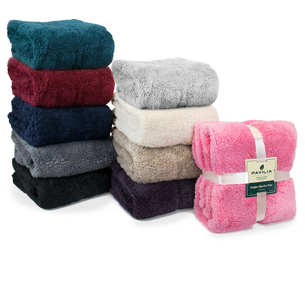 Soft-Fuzzy-Warm-Cozy-Throw-Blanket-with-Fluffy-Sherpa-Fleece-for-Sofa-Couch-Bed thumbnail 51