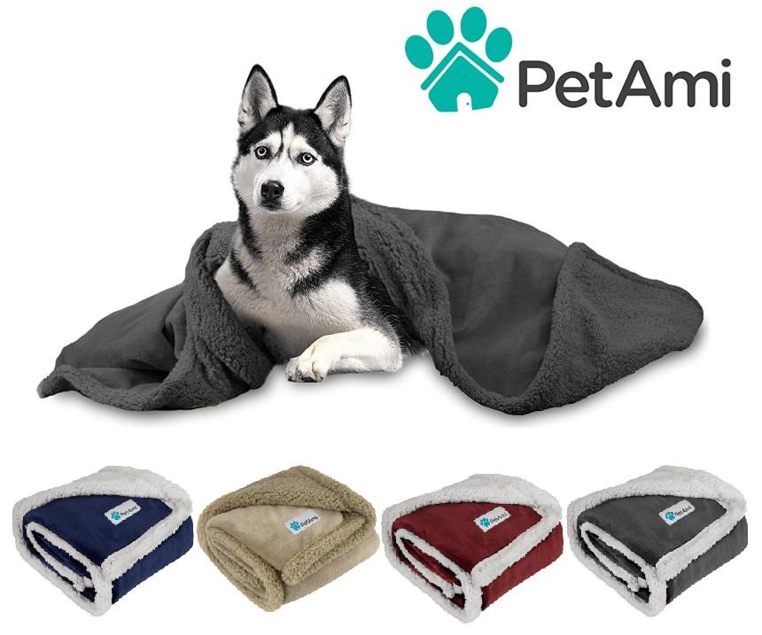 thumbnail 37 - Dog Blanket for Medium Large Dogs Pet Soft Fleece Durable Warm Sherpa Reversible