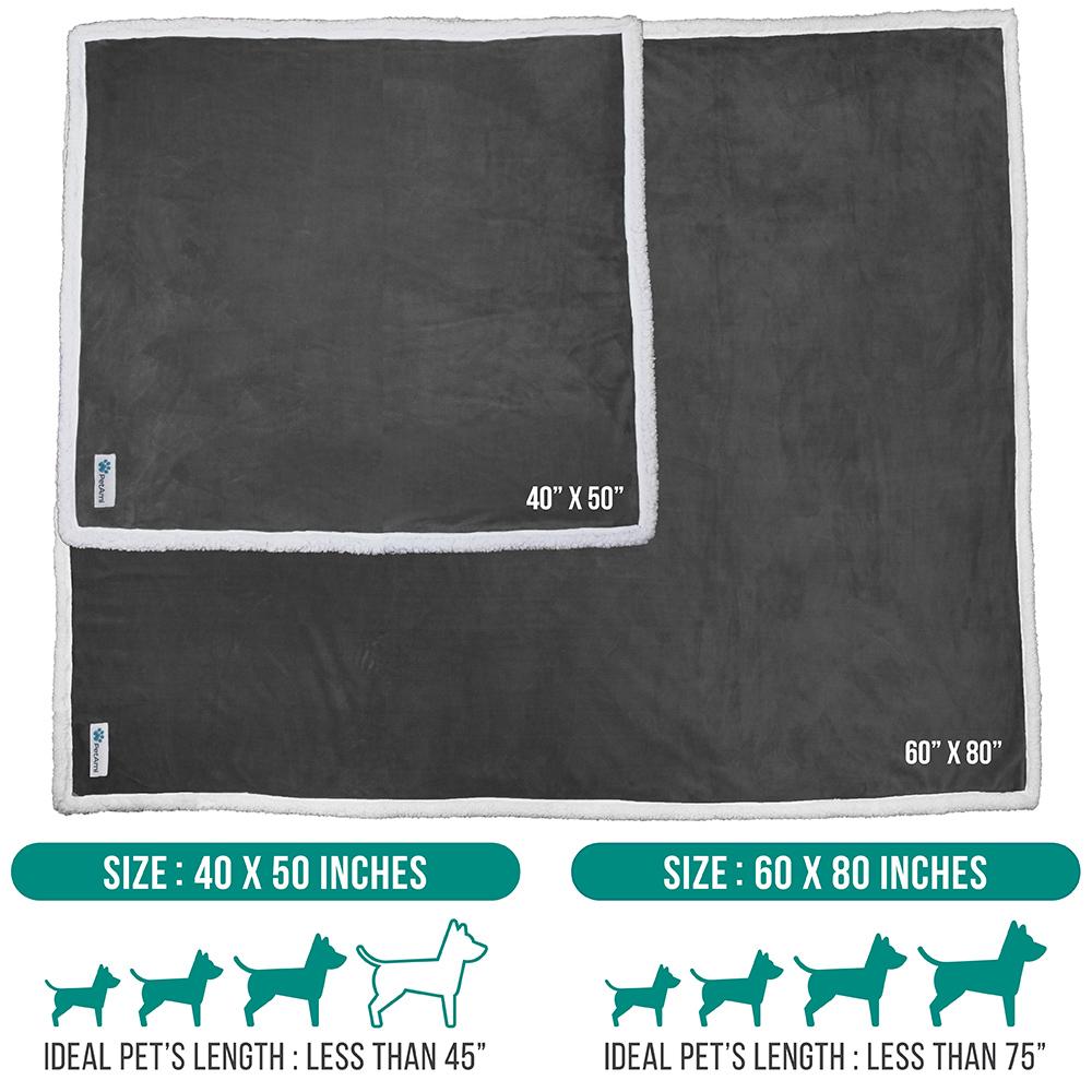 thumbnail 28 - Dog Blanket for Medium Large Dogs Pet Soft Fleece Durable Warm Sherpa Reversible