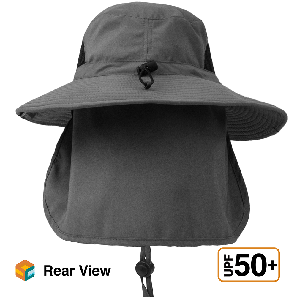 Details about  /Wide Brim Boonie Hat for Outdoor Hiking Fishing Sun Protection 50+UPF Bora Hat