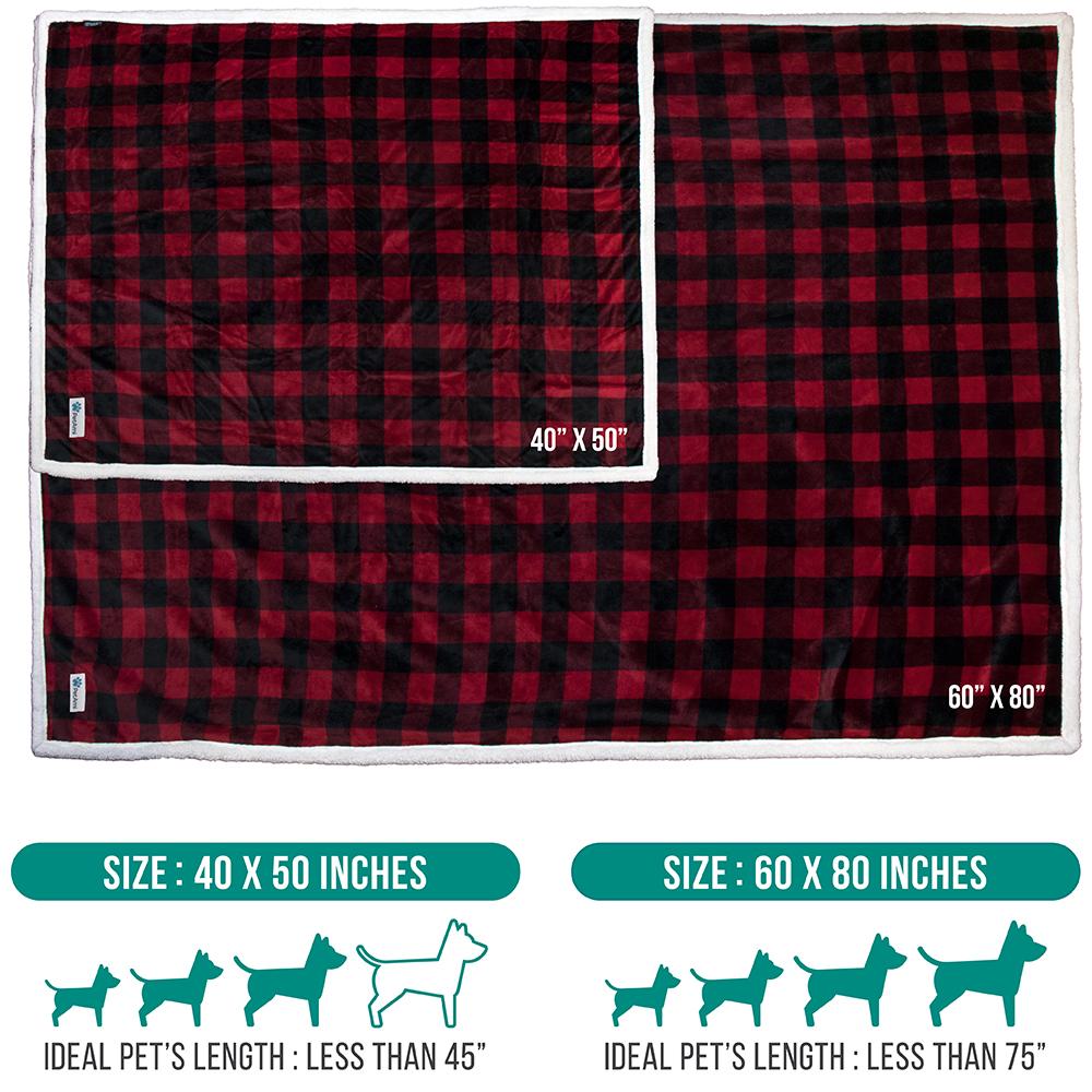 thumbnail 35 - Dog Blanket for Medium Large Dogs Pet Soft Fleece Durable Warm Sherpa Reversible