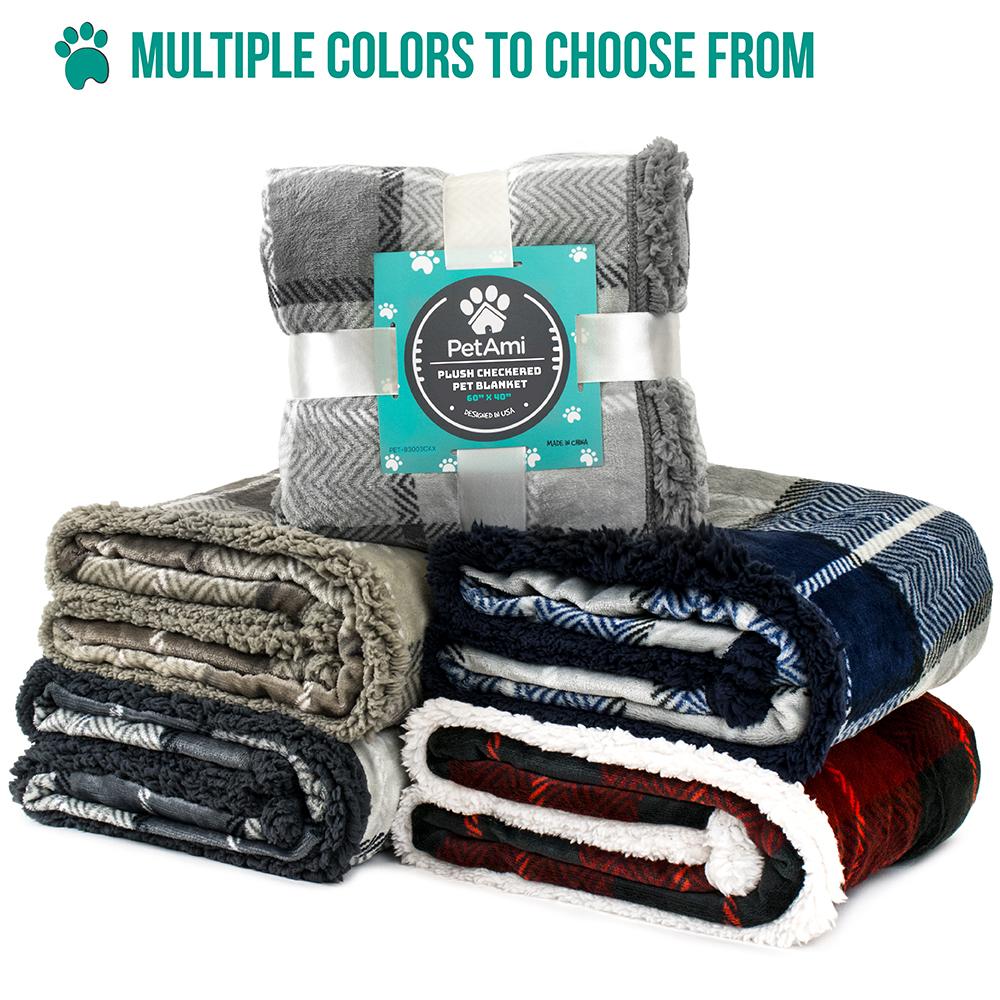thumbnail 36 - Dog Blanket for Medium Large Dogs Pet Soft Fleece Durable Warm Sherpa Reversible