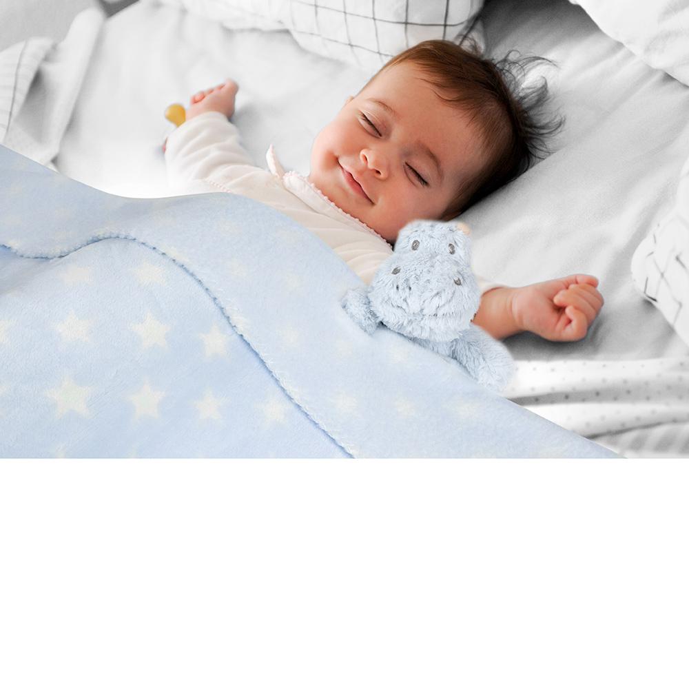 Baby Security Blanket Set With Plush Animal Soft Plush