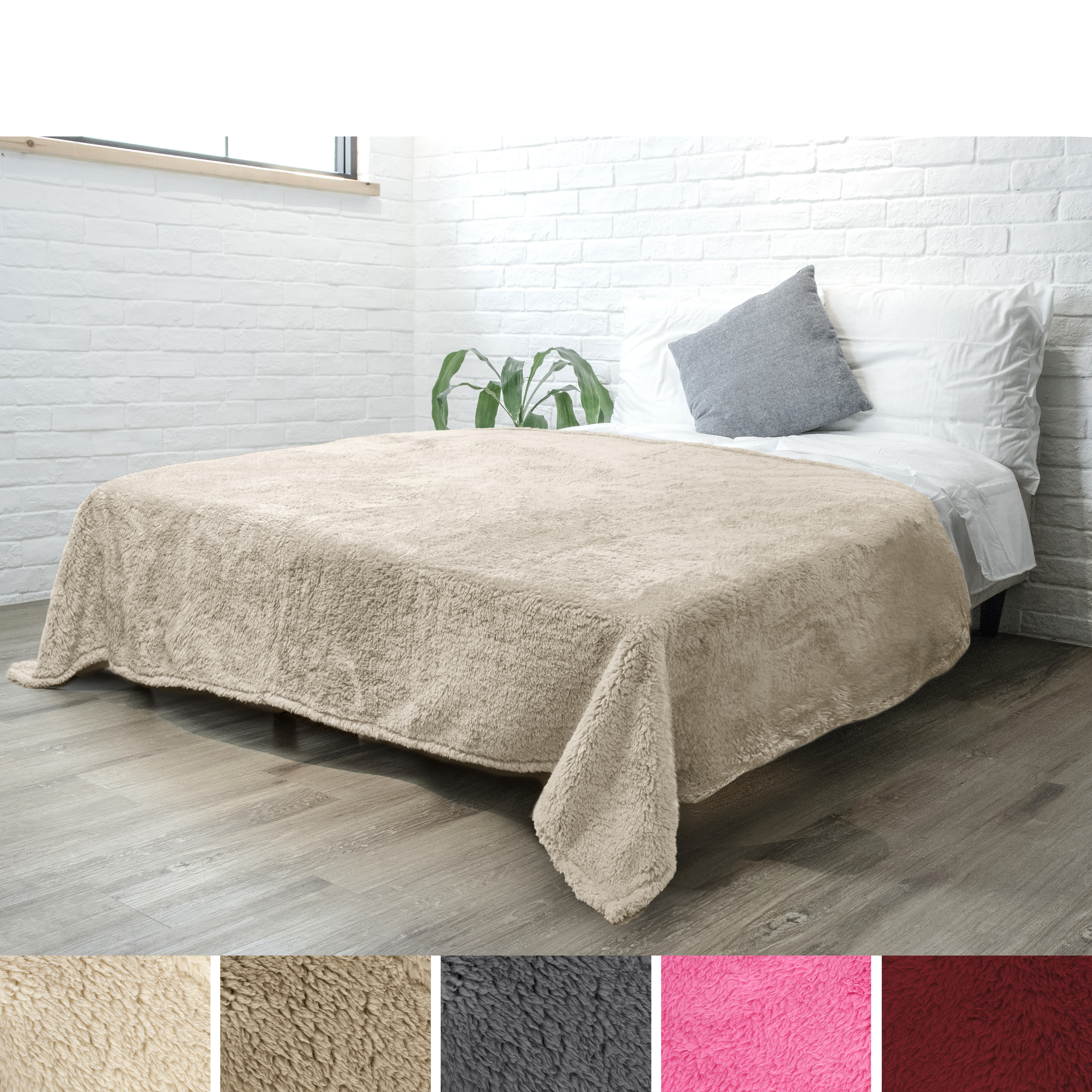 Soft-Fuzzy-Warm-Cozy-Throw-Blanket-with-Fluffy-Sherpa-Fleece-for-Sofa-Couch-Bed thumbnail 43