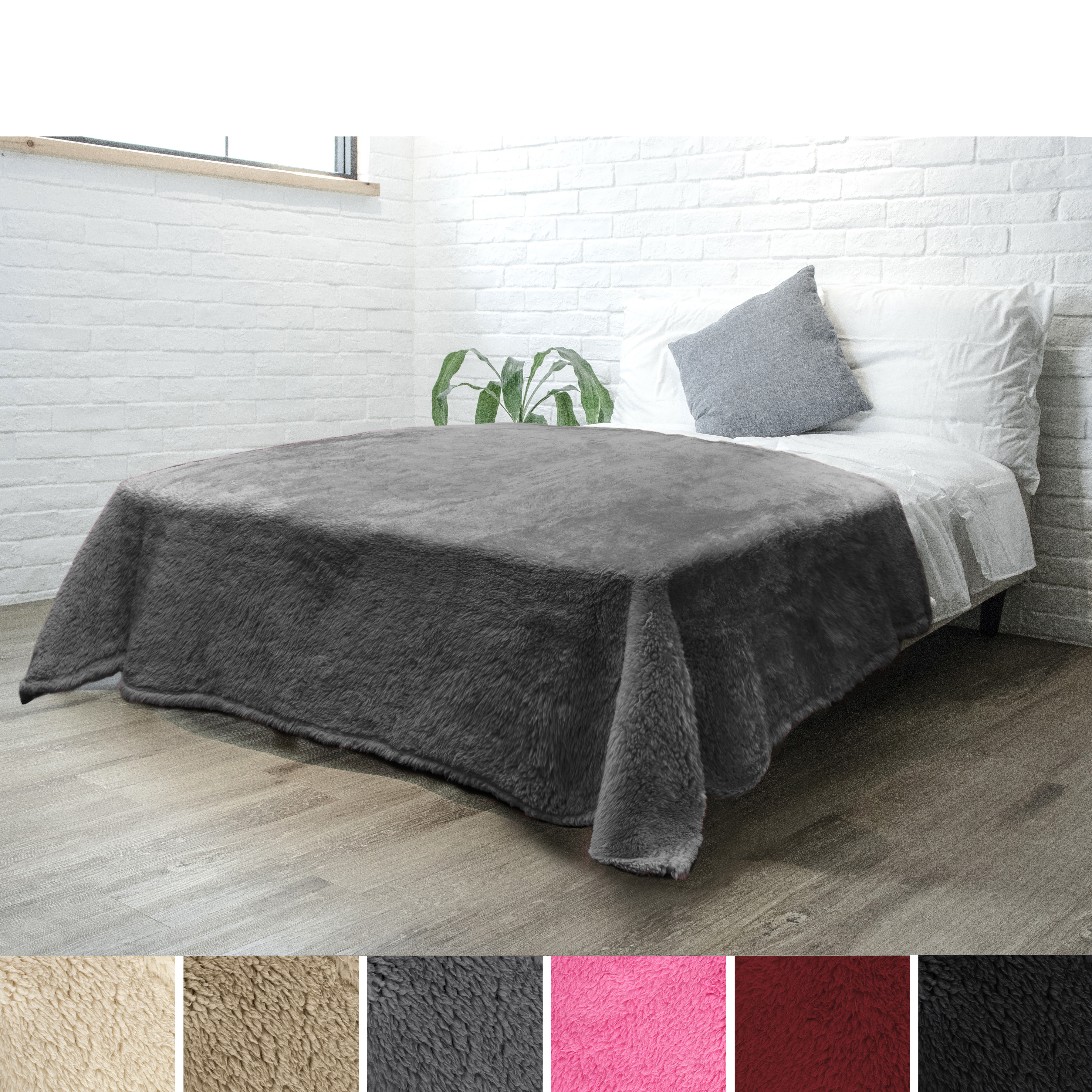 Soft-Fuzzy-Warm-Cozy-Throw-Blanket-with-Fluffy-Sherpa-Fleece-for-Sofa-Couch-Bed thumbnail 24