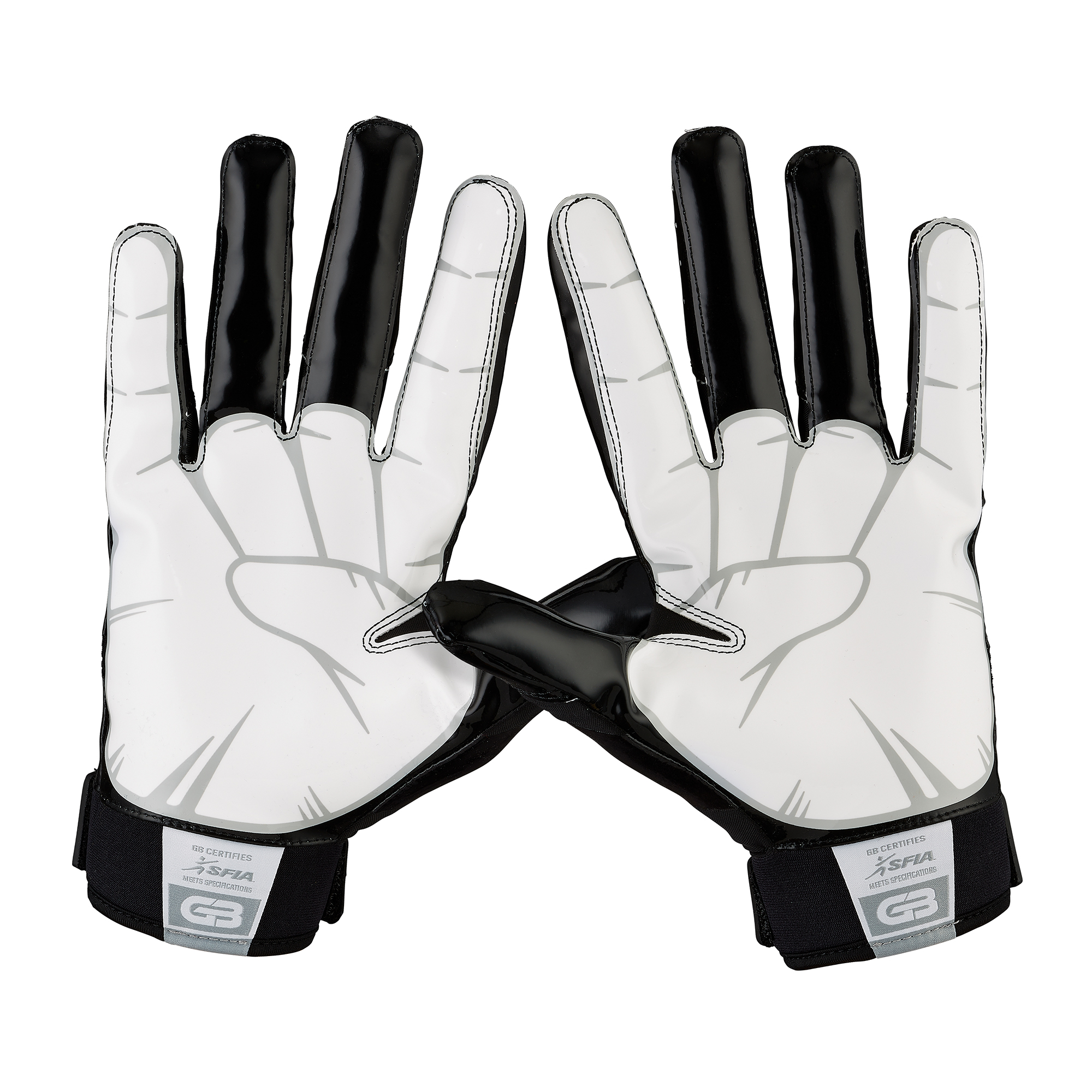 Grip Boost DNA Football Gloves with Engineered Grip Adult Sizes