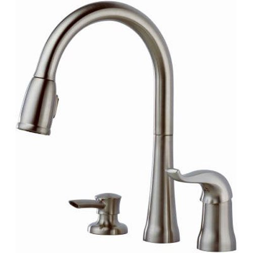 Delta Faucet Kate Single Handle Kitchen Sink Faucet With Pull Down Sprayer 34449580656 Ebay