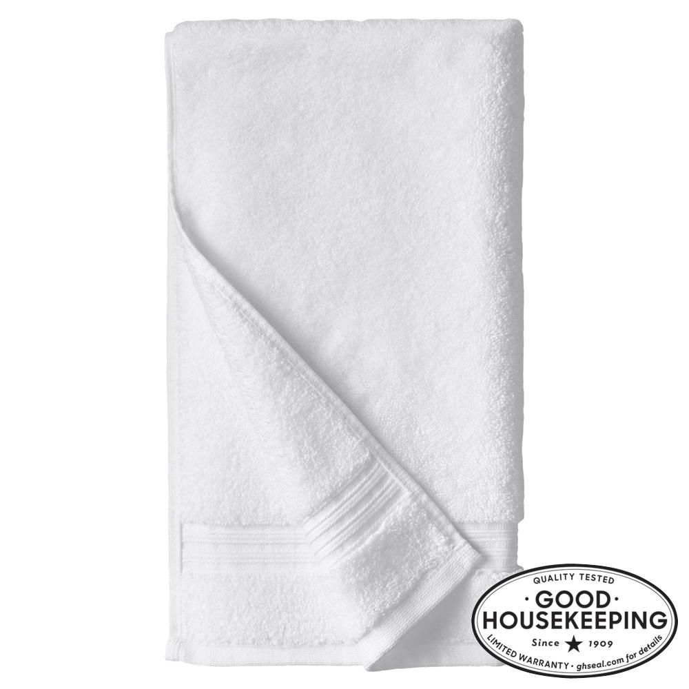 Egyptian Cotton Hand Towel In White Ebay