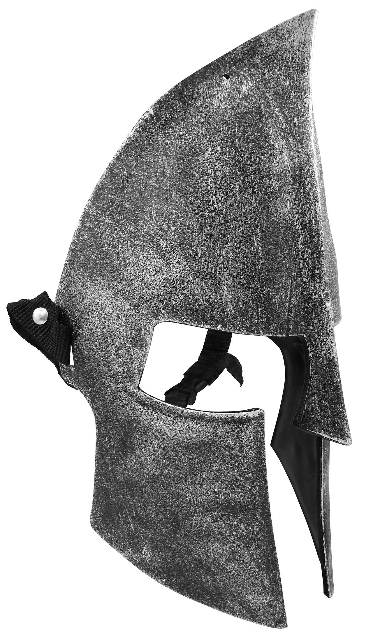 thumbnail 7 - Medieval Iron Knight Spartan Helmet Face Mask Roman Warrior Greek Costume