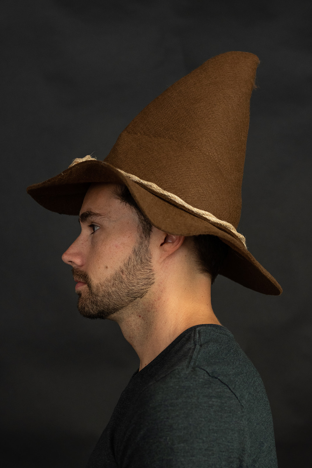 thumbnail 11 - Adult Scarecrow Hat Deluxe Felt Oktoberfest Wizard Witch Hillbilly Hat Costume