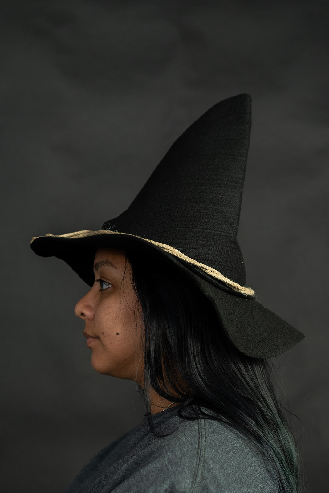 thumbnail 3 - Adult Scarecrow Hat Deluxe Felt Oktoberfest Wizard Witch Hillbilly Hat Costume