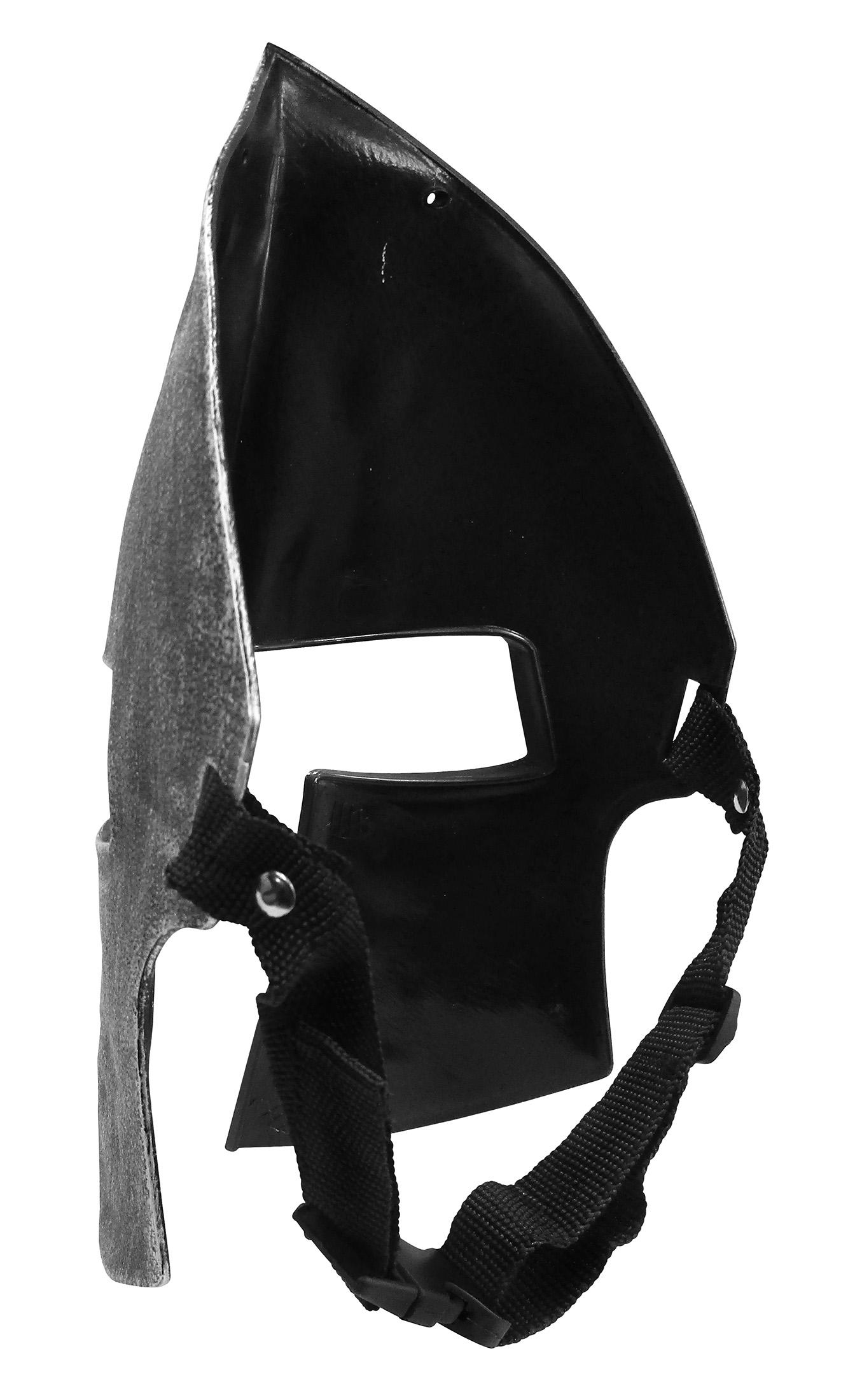 thumbnail 10 - Medieval Iron Knight Spartan Helmet Face Mask Roman Warrior Greek Costume