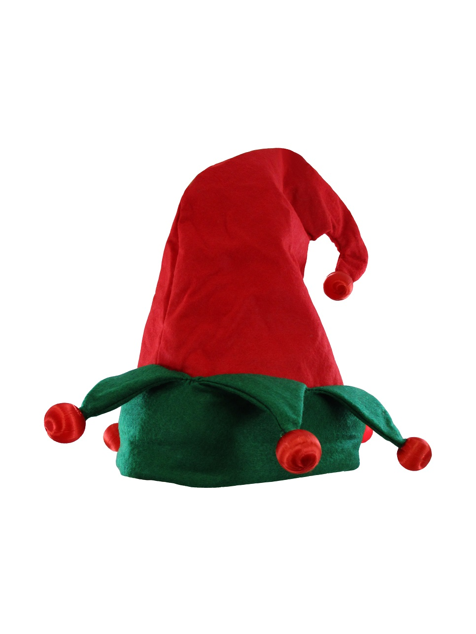 thumbnail 8 - Nicky-Bigs-Novelties-Light-Up-Elf-Hat-Costume-Accessory-Red-Green-One-Size