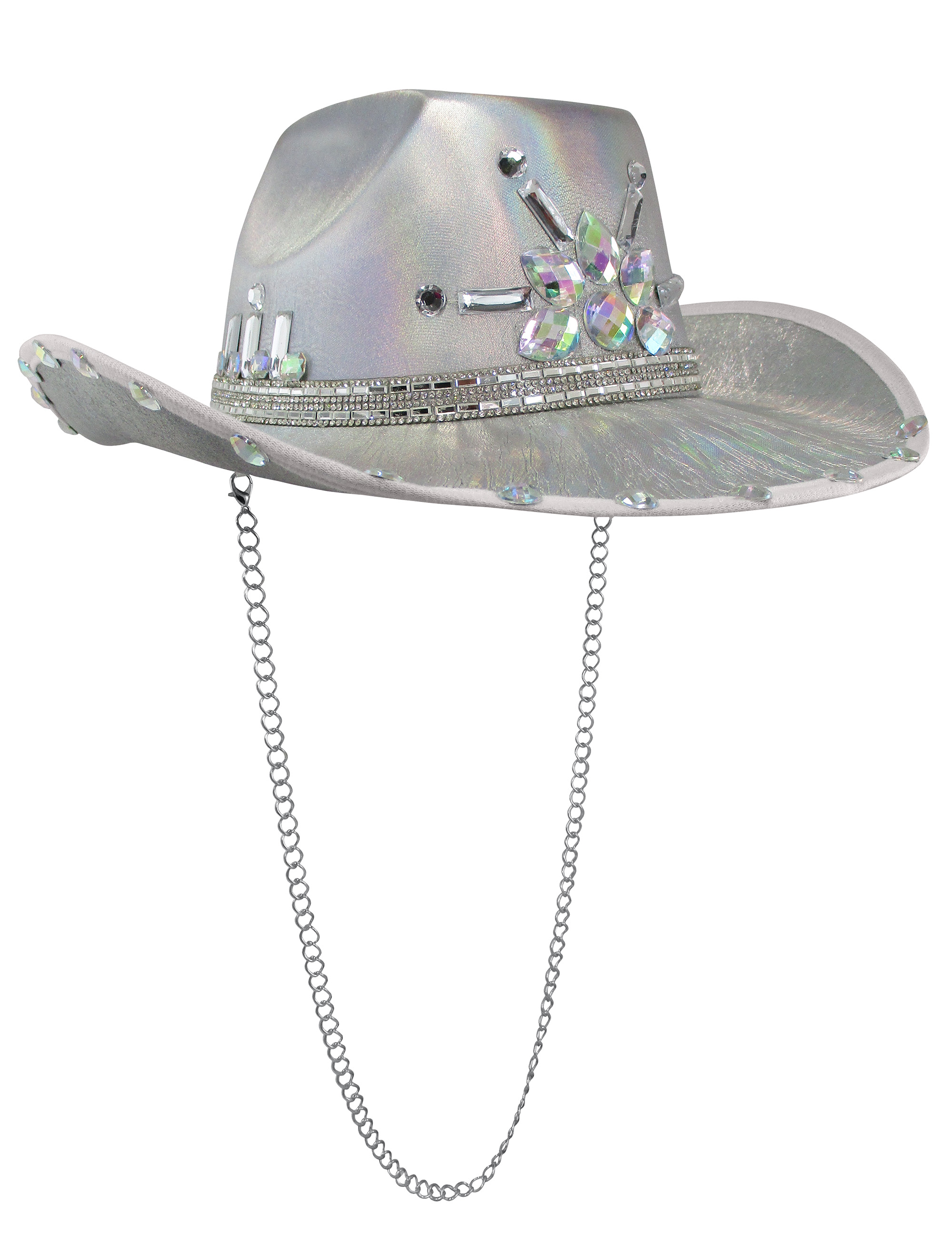 thumbnail 14 - Iridescent-Jewels-Gems-Gay-Pride-Festival-Bachelorette-Party-Cowgirl-Cowboy-Hat
